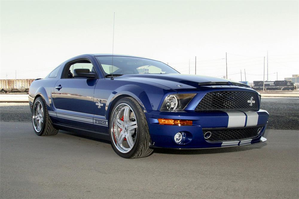2008 FORD SHELBY GT500 KR  - Front 3/4 - 185645