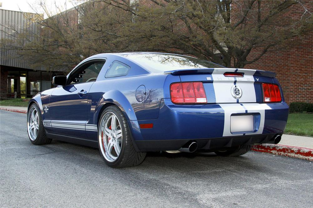 2008 FORD SHELBY GT500 KR  - Rear 3/4 - 185645