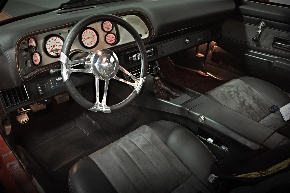 1971 CHEVROLET CAMARO CUSTOM - Interior - 185650