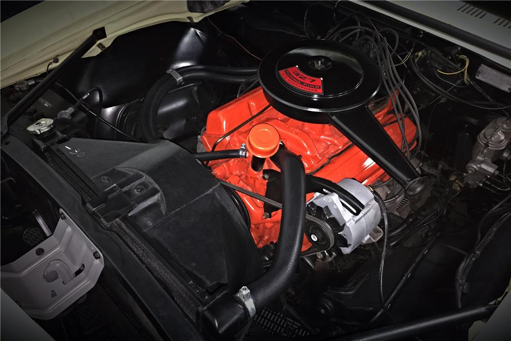 1967 CHEVROLET CAMARO CONVERTIBLE - Engine - 185652