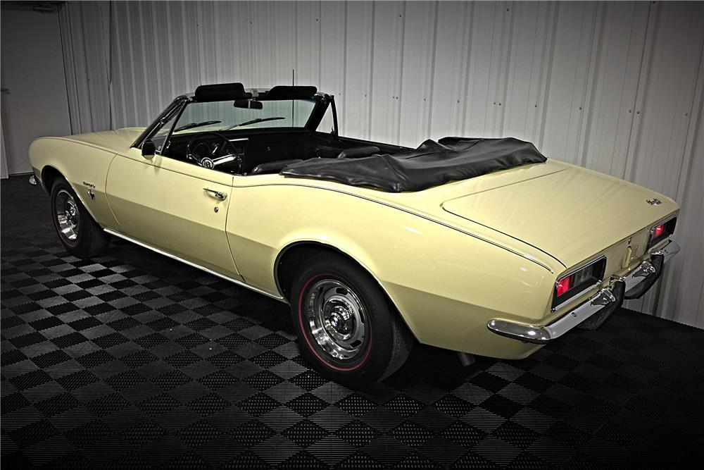 1967 CHEVROLET CAMARO CONVERTIBLE - Side Profile - 185652