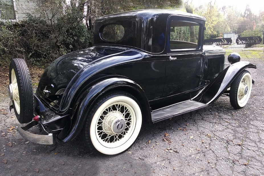 1931 PLYMOUTH MODEL PA - Rear 3/4 - 185668