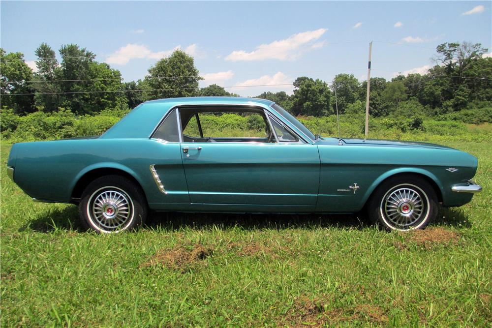 1965 FORD MUSTANG - Side Profile - 185681