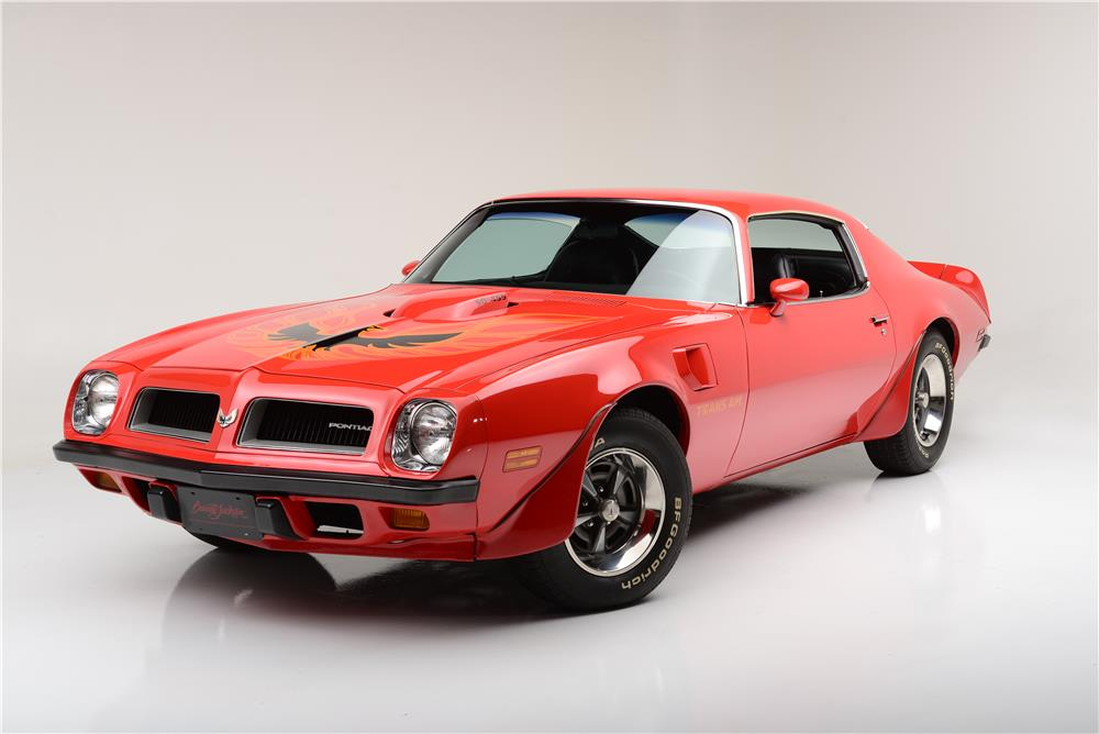 1974 PONTIAC FIREBIRD TRANS AM 455 SUPER DUTY - Front 3/4 - 185726