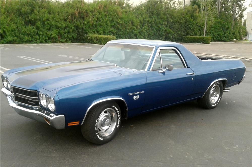 1970 CHEVROLET EL CAMINO PICKUP - Side Profile - 185728