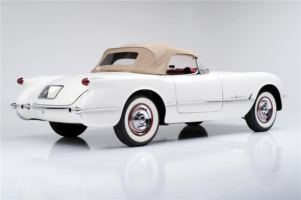 1955 Chevrolet Corvette Convertible Serial One 185730