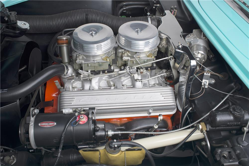 "1957 CHEVROLET CORVETTE CONVERTIBLE ""SERIAL ONE"" - Engine - 185732"