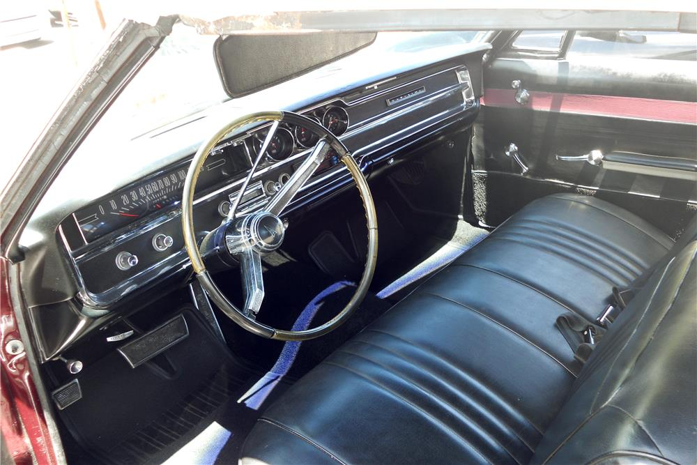 1965 PONTIAC CATALINA CONVERTIBLE - Interior - 185741