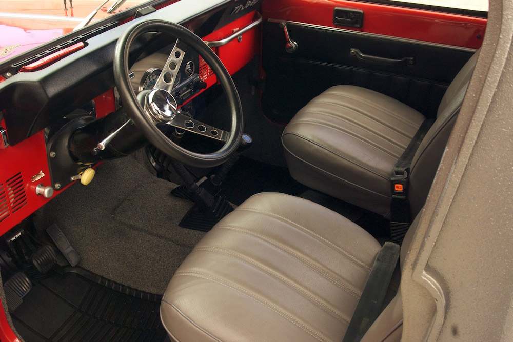 1981 AMERICAN MOTORS JEEP CJ-8 SCRAMBLER - Interior - 185771