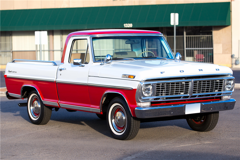 1970 FORD F-100 PICKUP - Front 3/4 - 185774