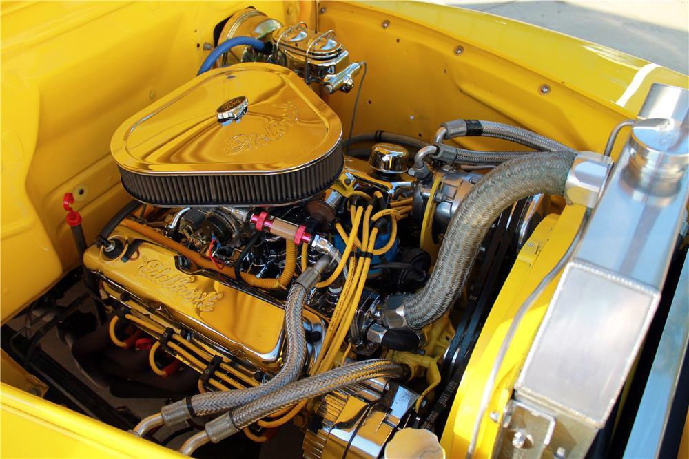 1950 FORD F-1 CUSTOM PICKUP - Engine - 185778