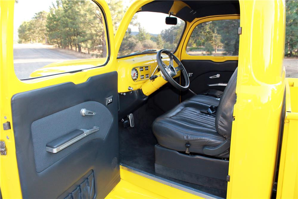 1950 FORD F-1 CUSTOM PICKUP - Interior - 185778
