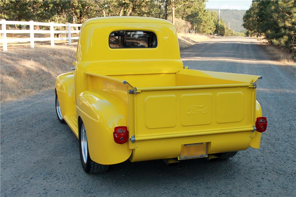 1950 FORD F-1 CUSTOM PICKUP - Rear 3/4 - 185778