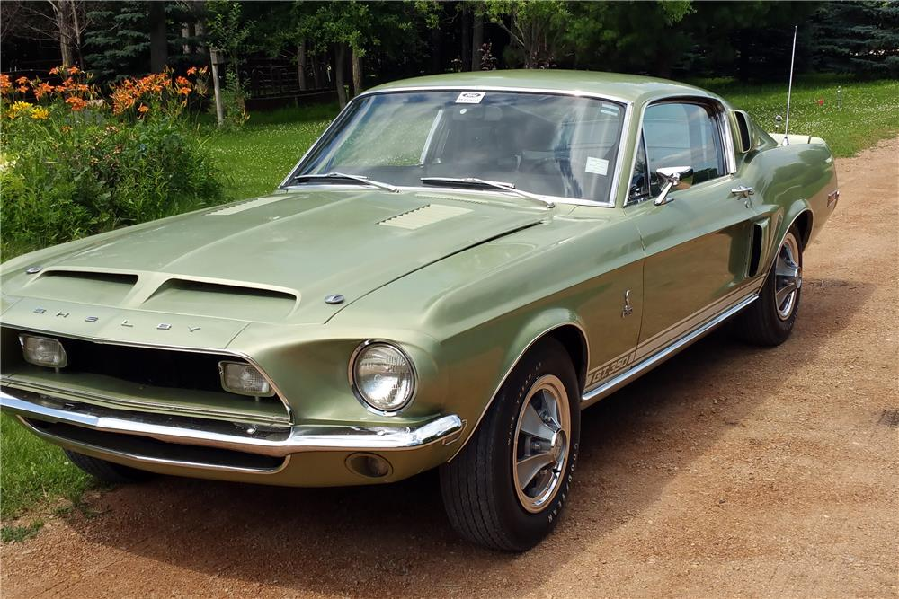 1968 SHELBY GT350 FASTBACK - Front 3/4 - 185781