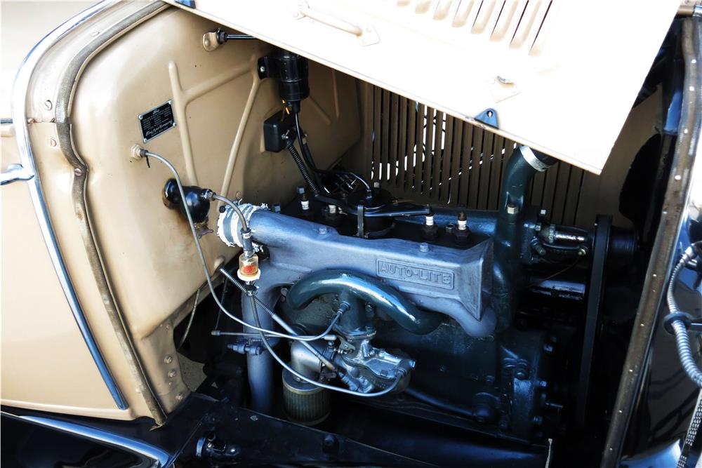 1930 FORD MODEL A WOODY WAGON - Engine - 185787