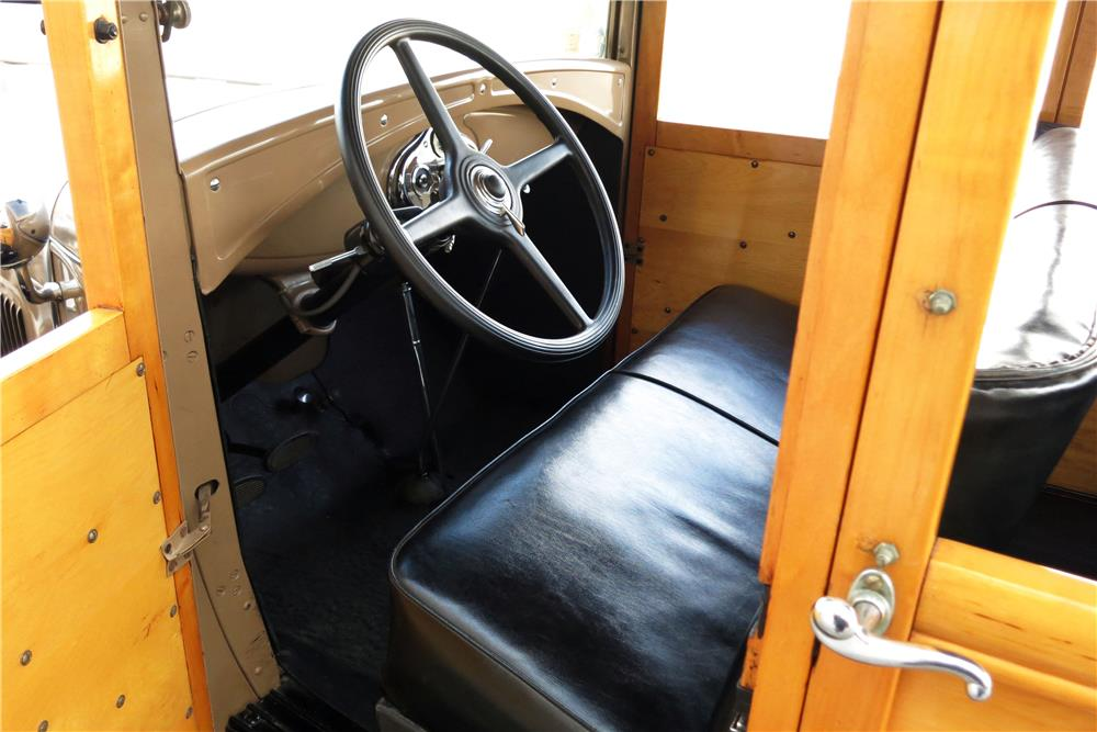 1930 FORD MODEL A WOODY WAGON - Interior - 185787