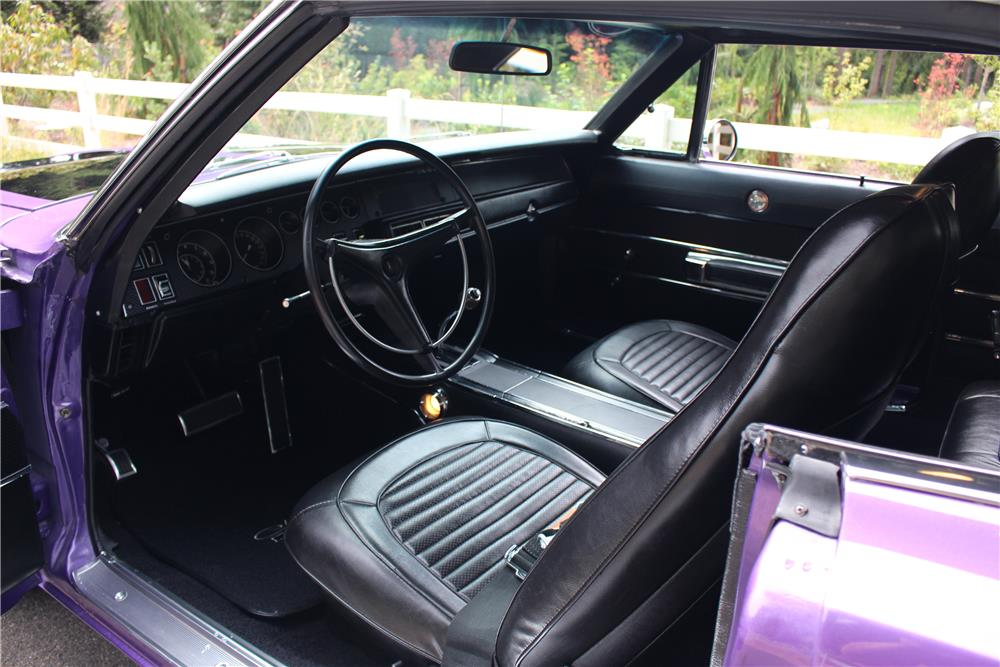 1970 DODGE CHARGER CUSTOM - Interior - 185795
