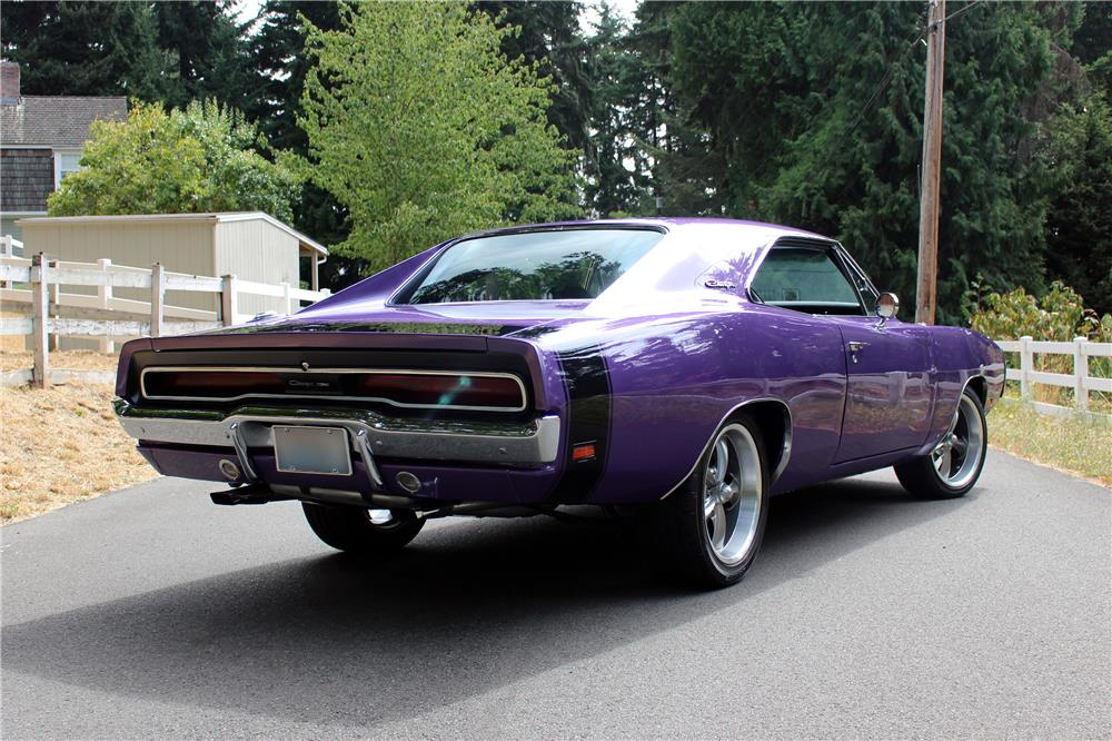 1970 DODGE CHARGER CUSTOM - Rear 3/4 - 185795