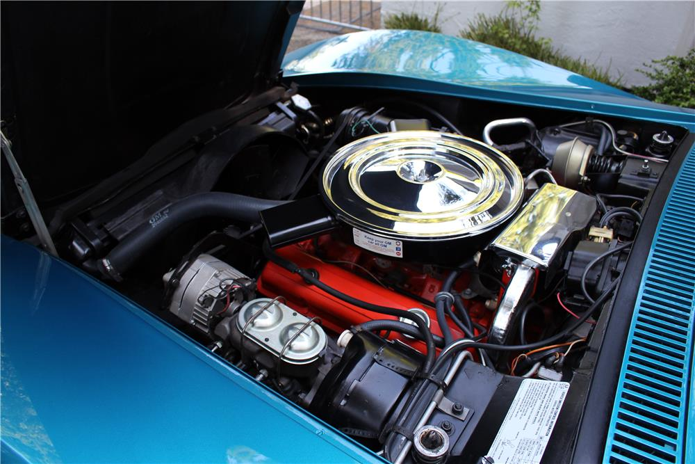 1972 CHEVROLET CORVETTE  - Engine - 185799