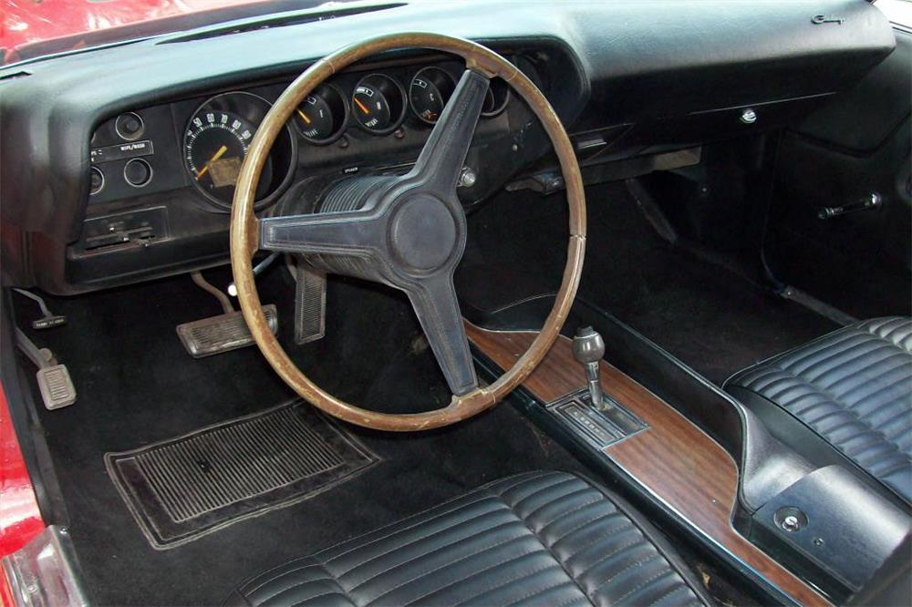 1970 DODGE CHALLENGER CUSTOM - Interior - 185803