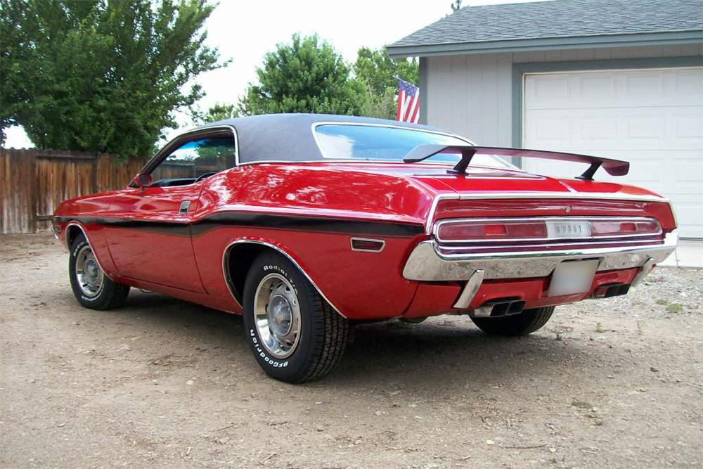 1970 DODGE CHALLENGER CUSTOM - Rear 3/4 - 185803