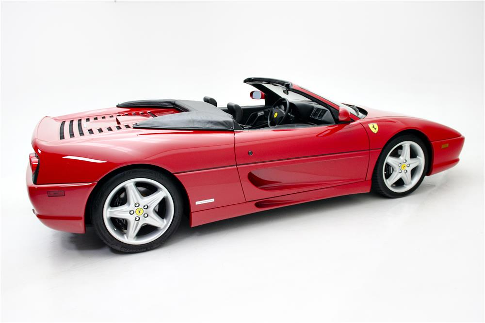 1999 FERRARI 355 SPIDER - Side Profile - 185836