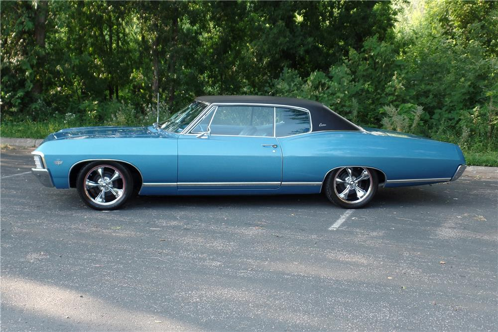 1967 CHEVROLET CAPRICE - Side Profile - 185848