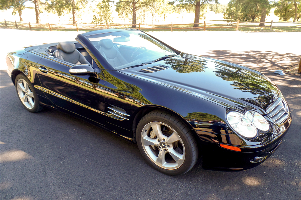 2004 MERCEDES-BENZ SL600 CONVERTIBLE - Side Profile - 185857