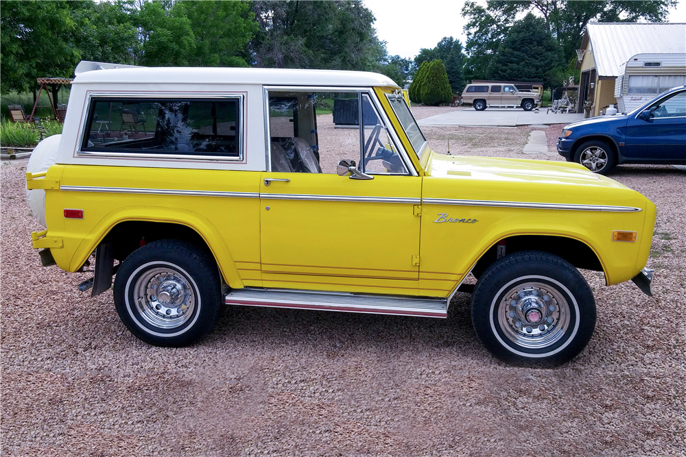 1973 FORD BRONCO 4X4 - Side Profile - 185858