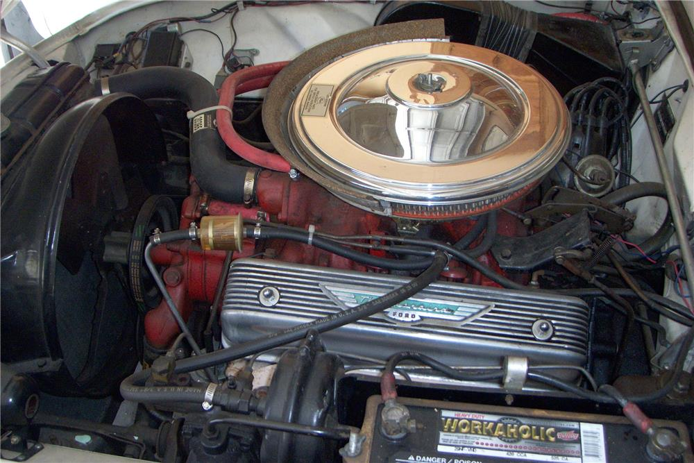 1957 FORD THUNDERBIRD CONVERTIBLE - Engine - 185884