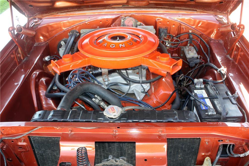 1970 DODGE CORONET  - Engine - 185892
