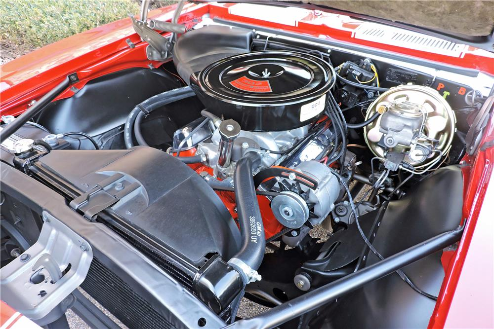 1967 CHEVROLET CAMARO CUSTOM COUPE - Engine - 185893