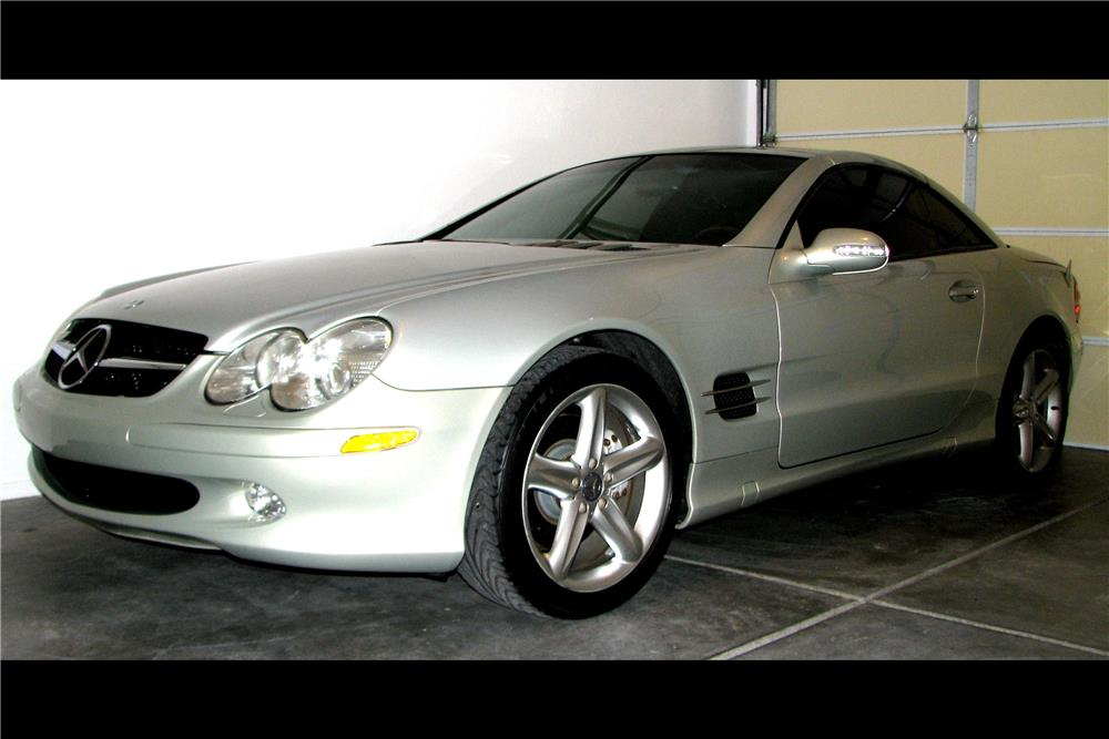 2003 MERCEDES-BENZ SL500 ROADSTER - Front 3/4 - 185909