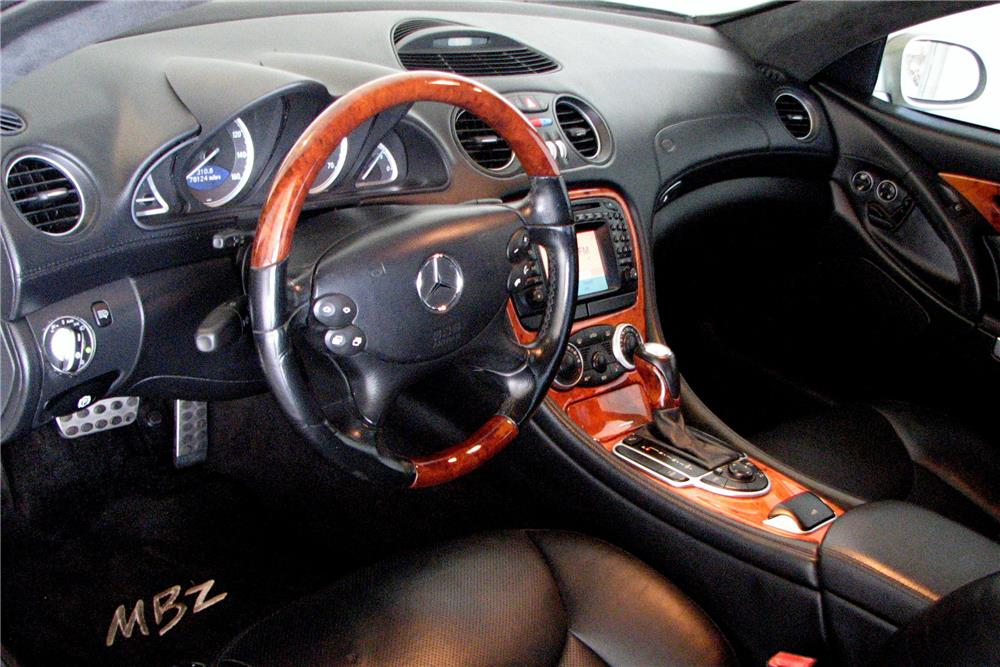 2003 MERCEDES-BENZ SL500 ROADSTER - Interior - 185909