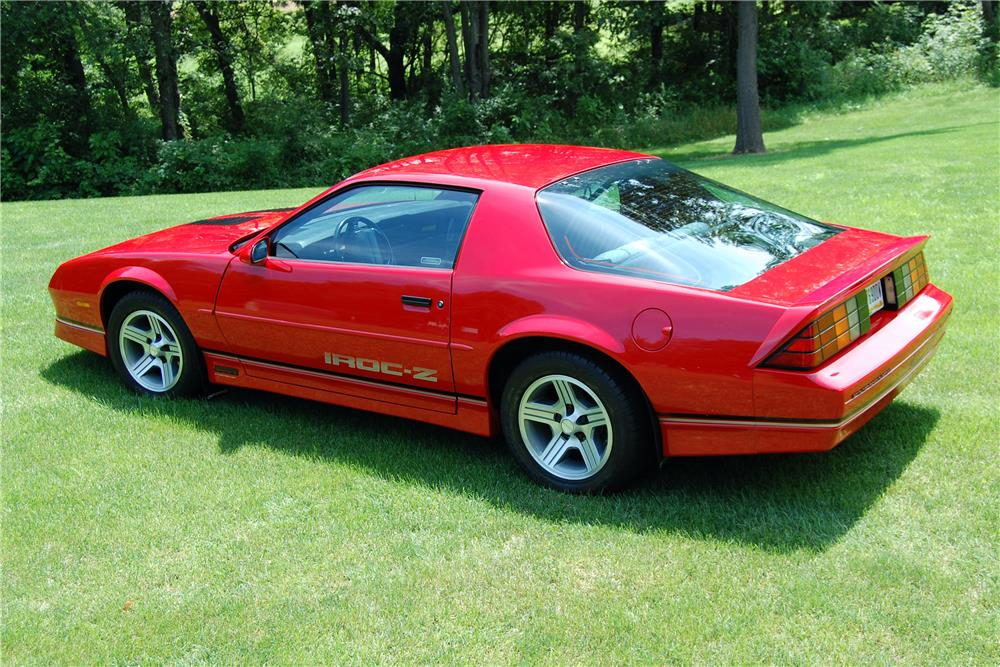 1990 camaro iroc z convertible for autos post. Black Bedroom Furniture Sets. Home Design Ideas