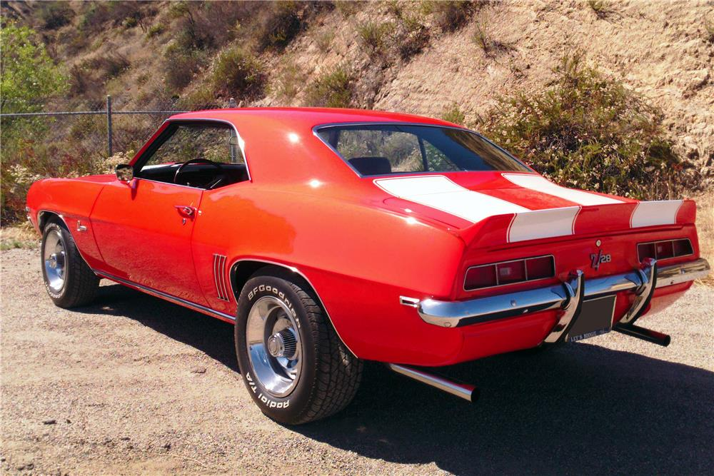 1969 CHEVROLET CAMARO Z/28 - Rear 3/4 - 185935