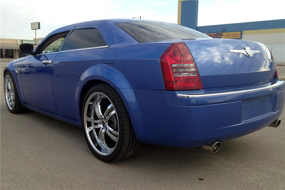 2005 CHRYSLER 300C CUSTOM COUPE - Rear 3/4 - 185937