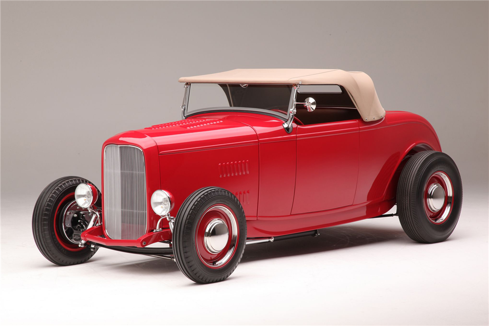 "1932 FORD HI-BOY ""McGEE TRIBUTE"" - Front 3/4 - 186004"