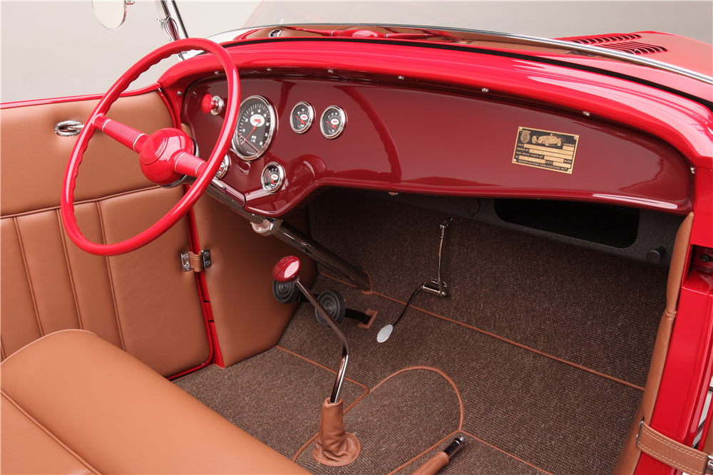 "1932 FORD HI-BOY ""McGEE TRIBUTE"" - Interior - 186004"