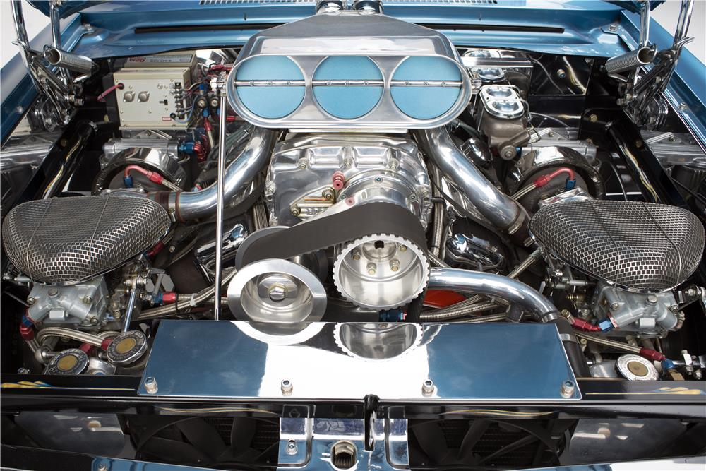 "1965 CHEVROLET NOVA SS ""DOBBERTIN'S"" CUSTOM - Engine - 186006"