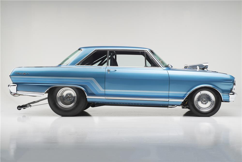 "1965 CHEVROLET NOVA SS ""DOBBERTIN'S"" CUSTOM - Side Profile - 186006"