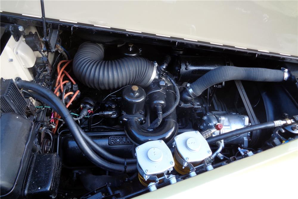 1963 ROLLS-ROYCE SILVER CLOUD III CONVERTIBLE CONVERSION - Engine - 186116