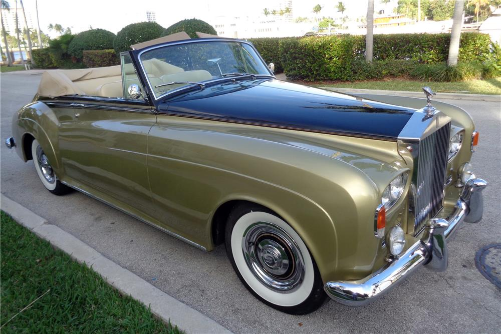 1963 ROLLS-ROYCE SILVER CLOUD III CONVERTIBLE CONVERSION - Front 3/4 - 186116