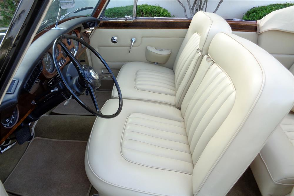 1963 ROLLS-ROYCE SILVER CLOUD III CONVERTIBLE CONVERSION - Interior - 186116