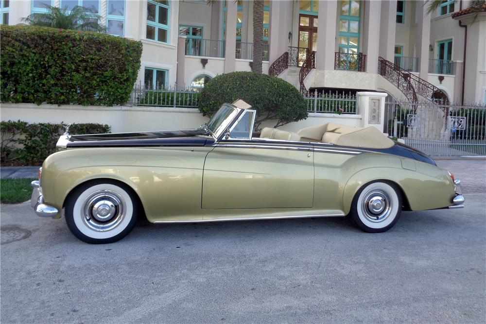 1963 ROLLS-ROYCE SILVER CLOUD III CONVERTIBLE CONVERSION - Side Profile - 186116
