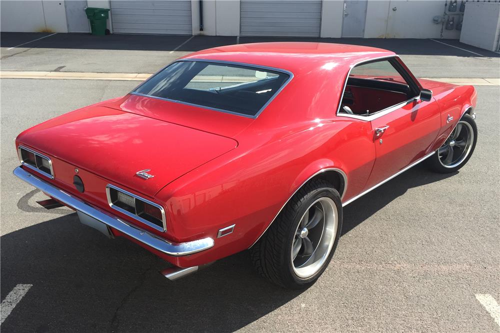 1968 CHEVROLET CAMARO CUSTOM - Rear 3/4 - 186350