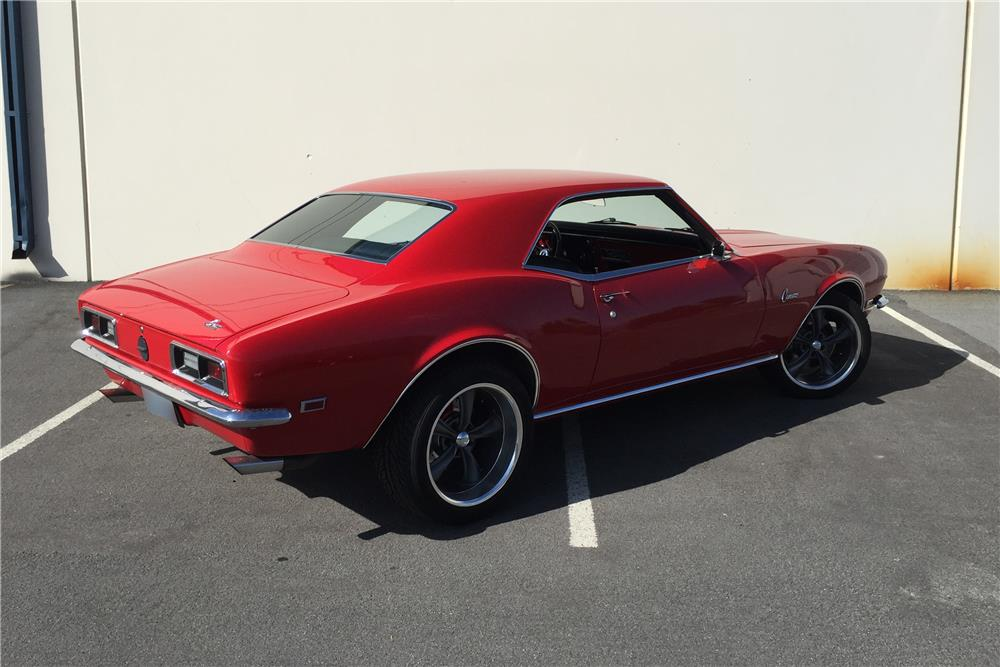 1968 CHEVROLET CAMARO CUSTOM - Side Profile - 186350
