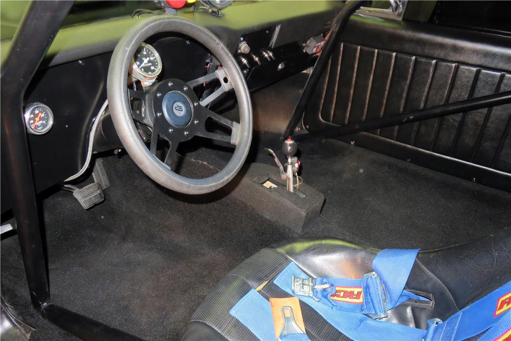1972 CHEVROLET NOVA CUSTOM DRAG CAR - Interior - 186433