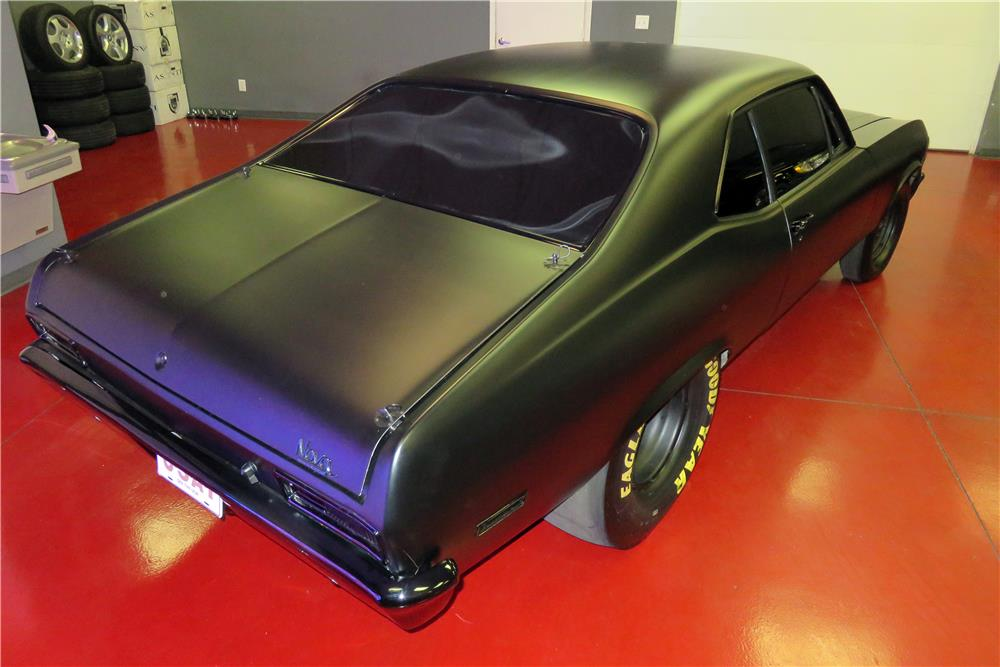 1972 CHEVROLET NOVA CUSTOM DRAG CAR - Rear 3/4 - 186433
