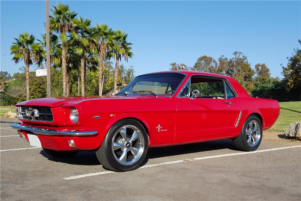 1965 FORD MUSTANG - Front 3/4 - 186438